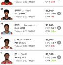 Fantasy Basketball: DraftKings Line Up for 8/2/20